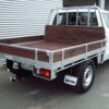 Ute with wooden deck